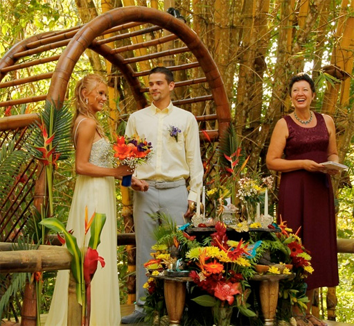 Costa Rica Weddings: Waterfall Villas Waterfall Wedding