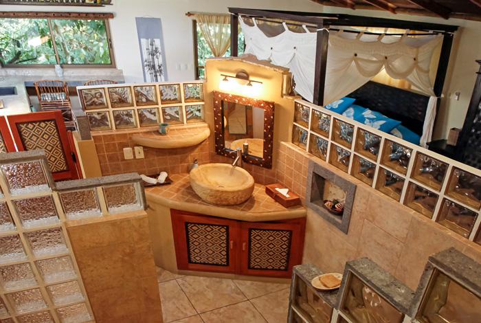 Honeymoon Suite in Waterfall Villas
